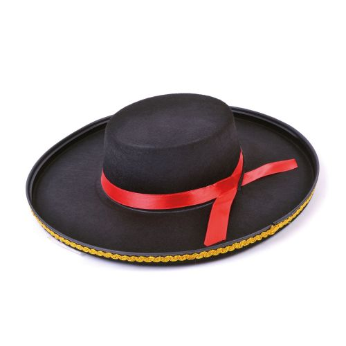 Spanish Felt Hat Spain Latin America Mexican Mexico Fancy Dress Accessory